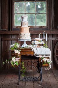 vintage wedding cake graceevent world
