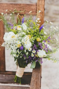 barn wedding bouquet 1